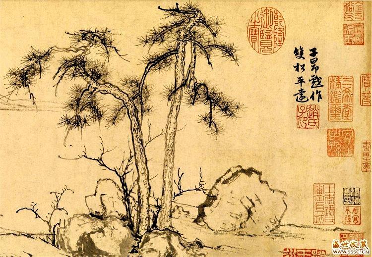 中国画·古松观止     第一部分_图1-35