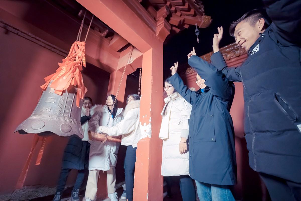 沂蒙摄影人在蒙山之巅迎接新年的第一缕阳光_图1-3