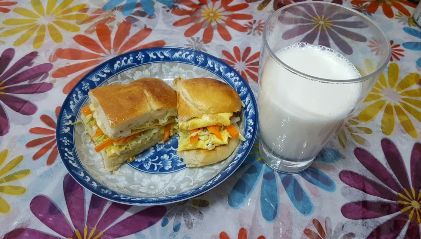 【田螺随拍】分享我今天的早餐_图1-1