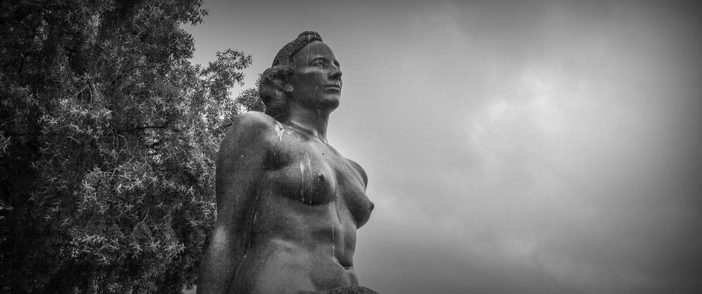 挪威奥塞罗,街头著名雕塑_图1-9