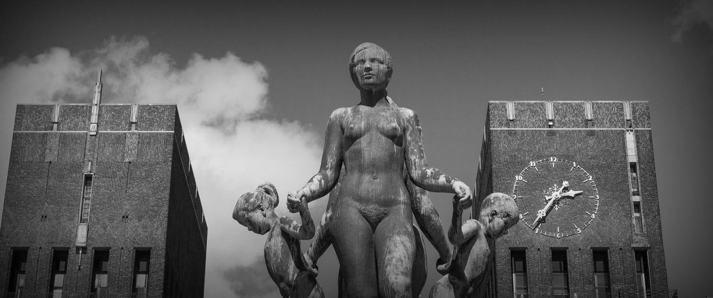 挪威奥塞罗,街头著名雕塑_图1-5