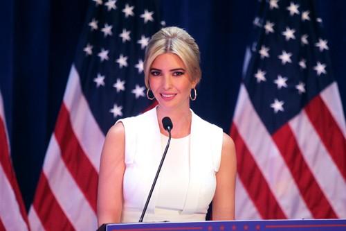 伊万卡确有美国首位女总统潜力_图1-1