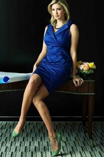 伊万卡确有美国首位女总统潜力_图1-3