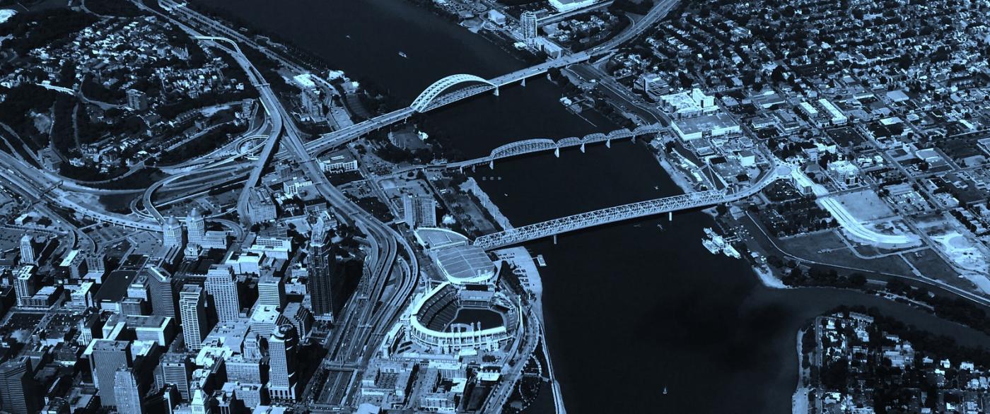 鸟瞰费城,很难得_图1-1