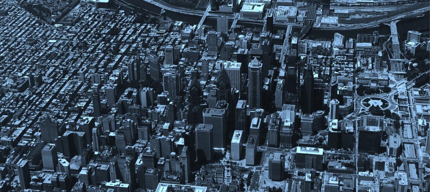 鸟瞰费城,很难得_图1-4