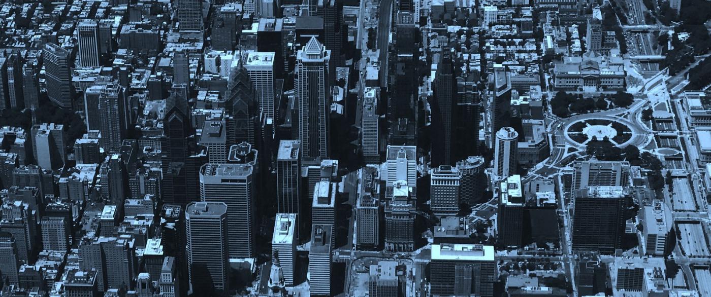 鸟瞰费城,很难得_图1-5