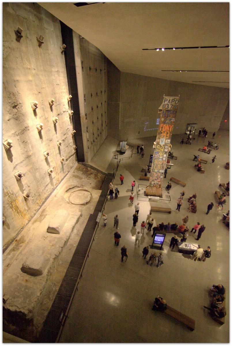 【爱摄影】911 纪念博物馆_图1-11