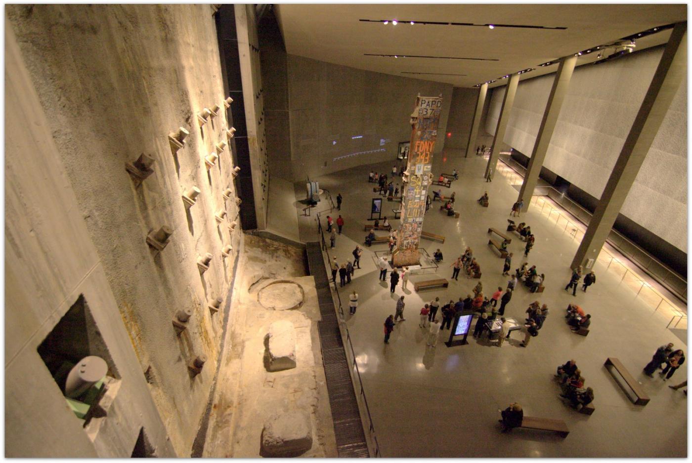 【爱摄影】911 纪念博物馆_图1-2