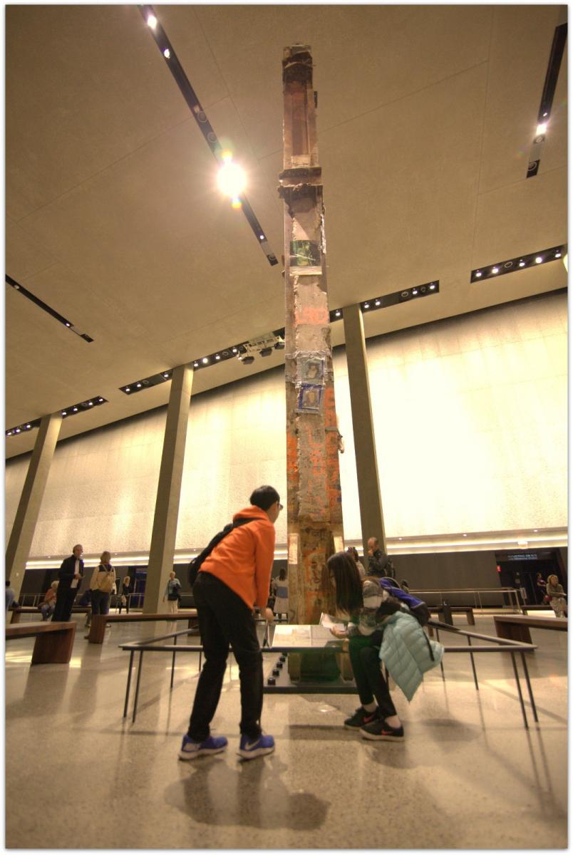 【爱摄影】911 纪念博物馆_图1-5
