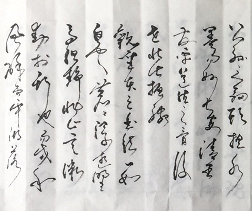 著名书法艺术家石维加草书艺术欣赏_图1-3
