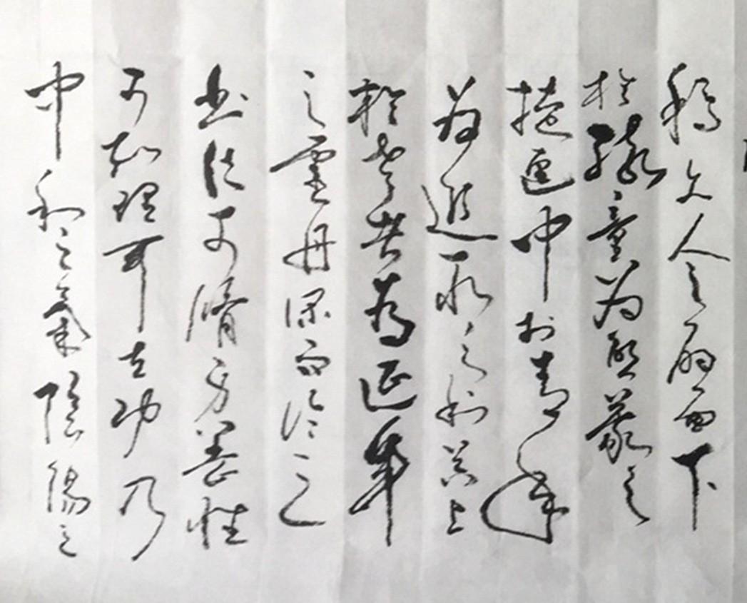 著名书法艺术家石维加草书艺术欣赏_图1-5