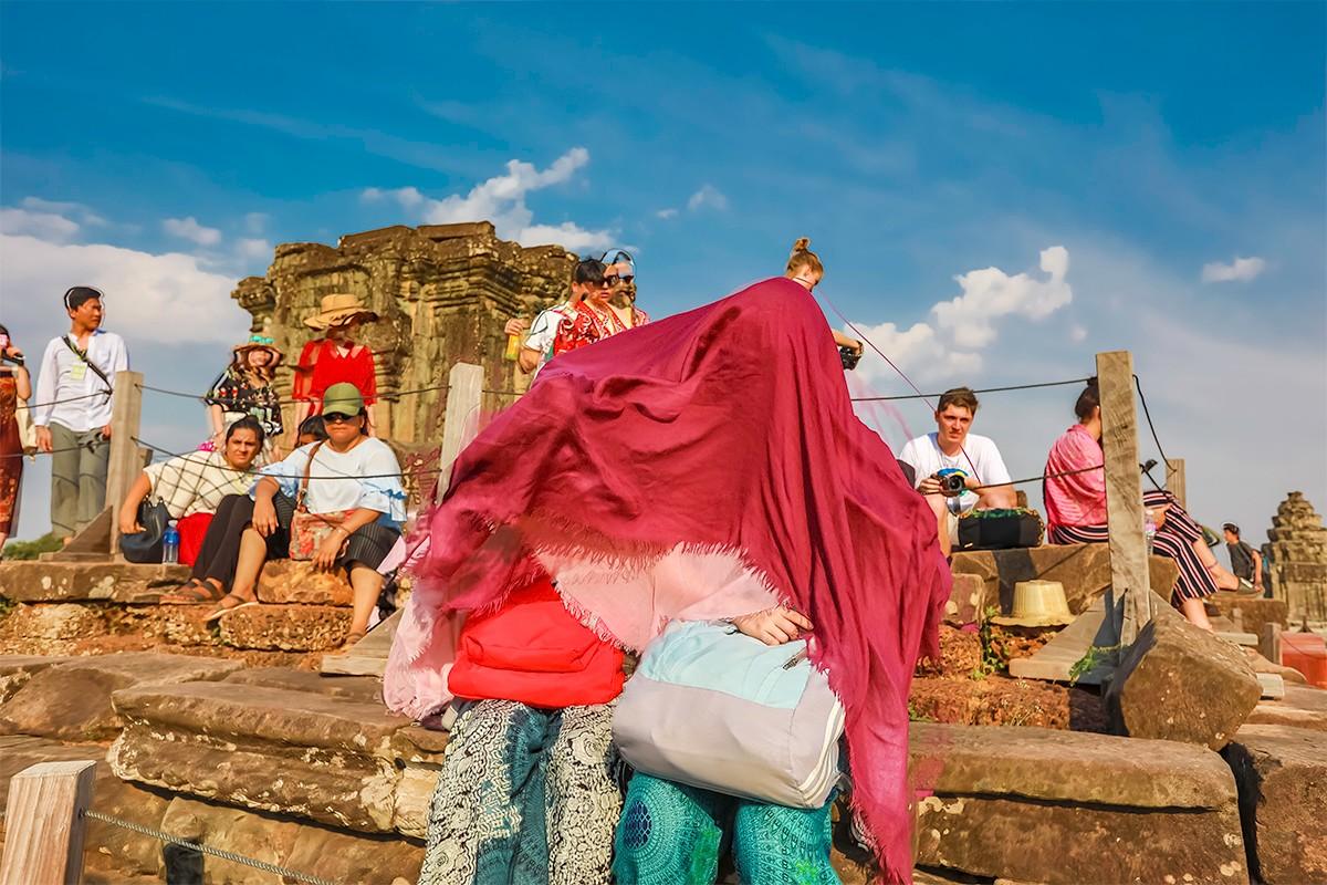 难道这就是世界上最美也是最挤的夕阳 行摄柬埔寨见闻_图1-14