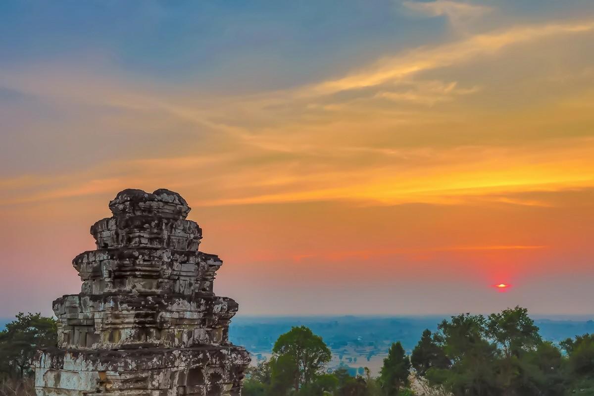 难道这就是世界上最美也是最挤的夕阳 行摄柬埔寨见闻_图1-1
