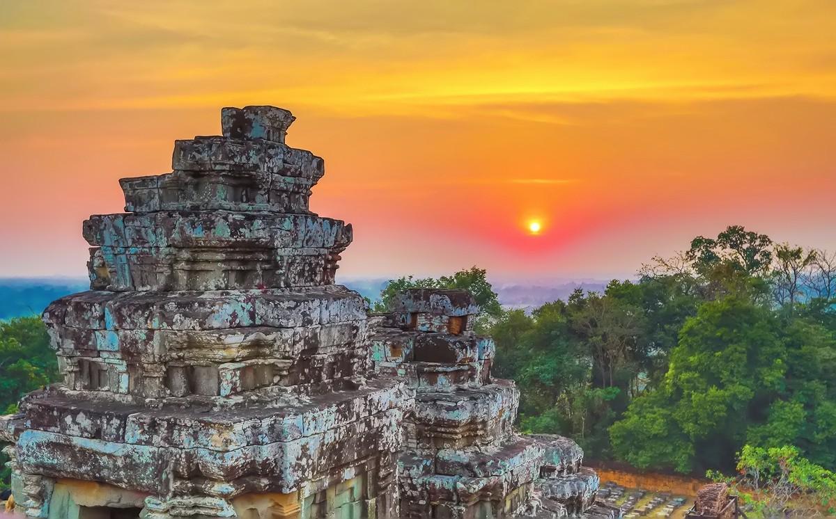难道这就是世界上最美也是最挤的夕阳 行摄柬埔寨见闻_图1-17