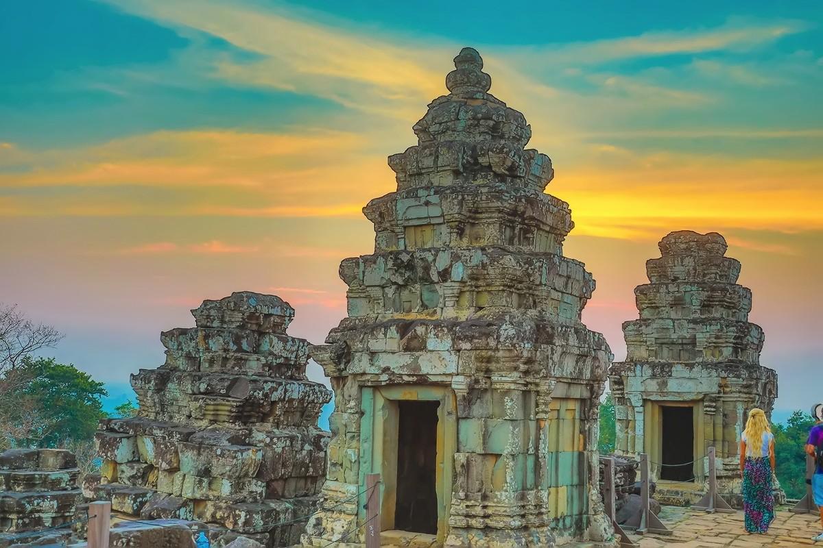 难道这就是世界上最美也是最挤的夕阳 行摄柬埔寨见闻_图1-2