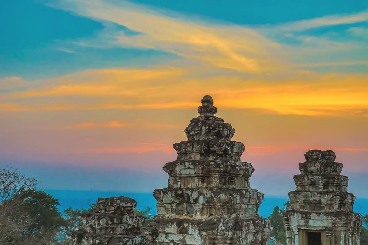 难道这就是世界上最美也是最挤的夕阳 行摄柬埔寨见闻_图1-3