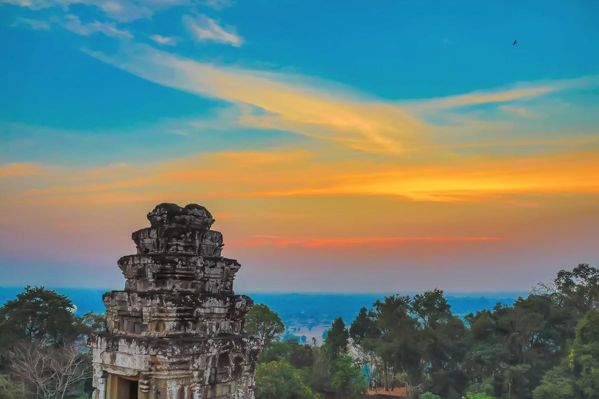 难道这就是世界上最美也是最挤的夕阳 行摄柬埔寨见闻_图1-4