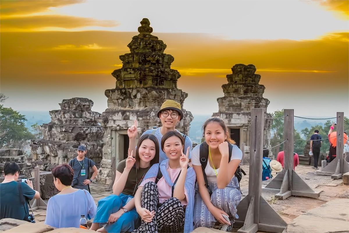 难道这就是世界上最美也是最挤的夕阳 行摄柬埔寨见闻_图1-16