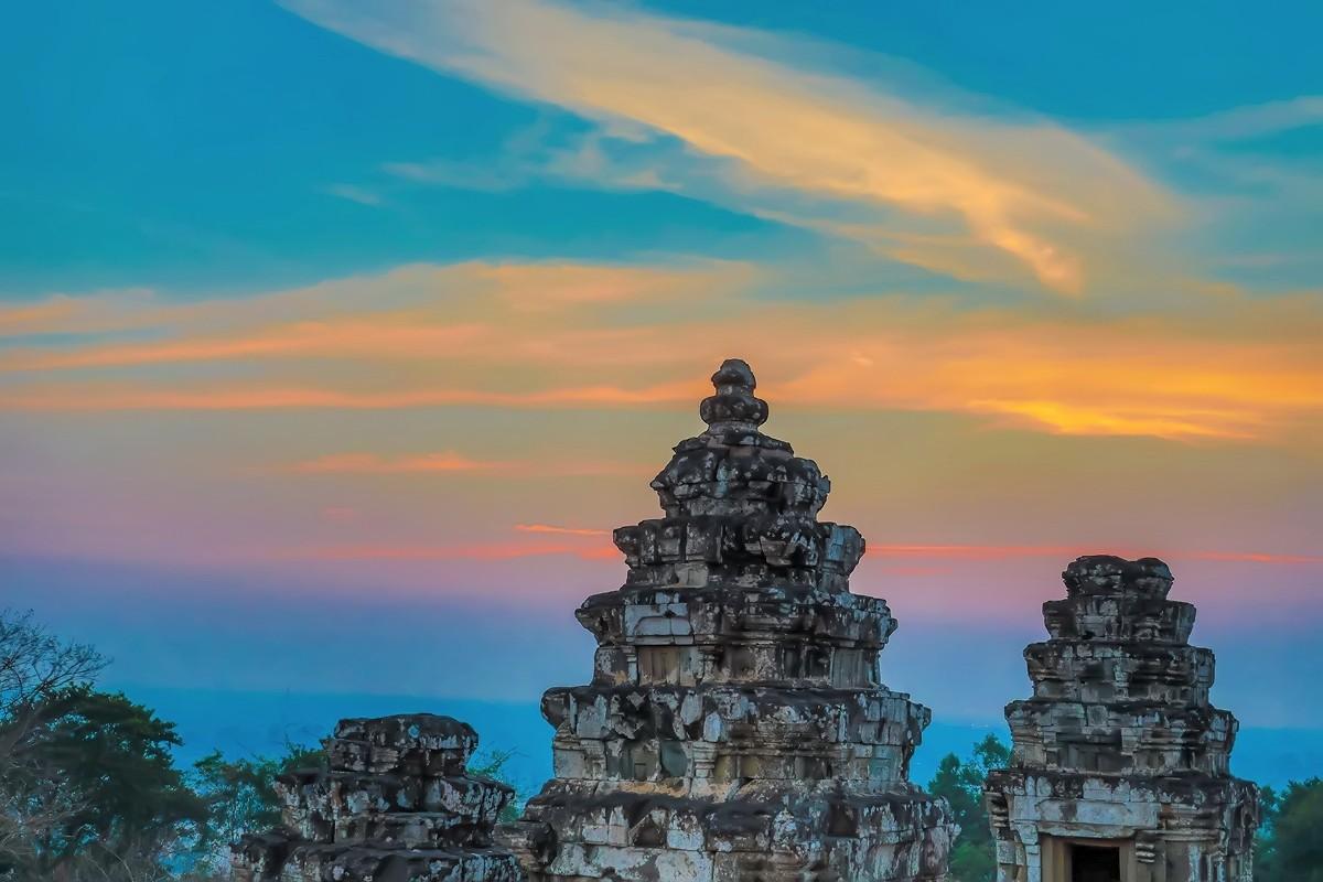 难道这就是世界上最美也是最挤的夕阳 行摄柬埔寨见闻_图1-5
