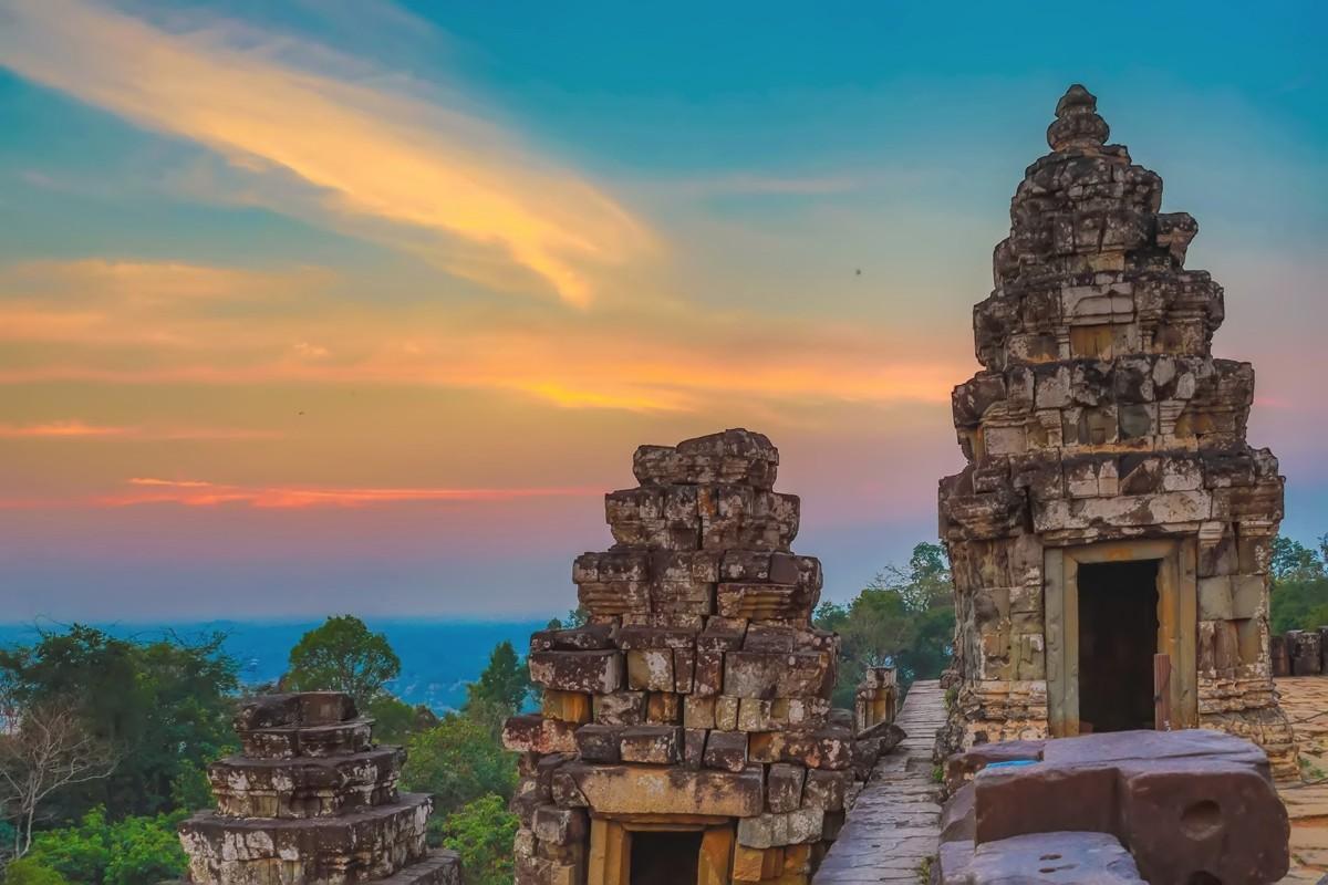 难道这就是世界上最美也是最挤的夕阳 行摄柬埔寨见闻_图1-6