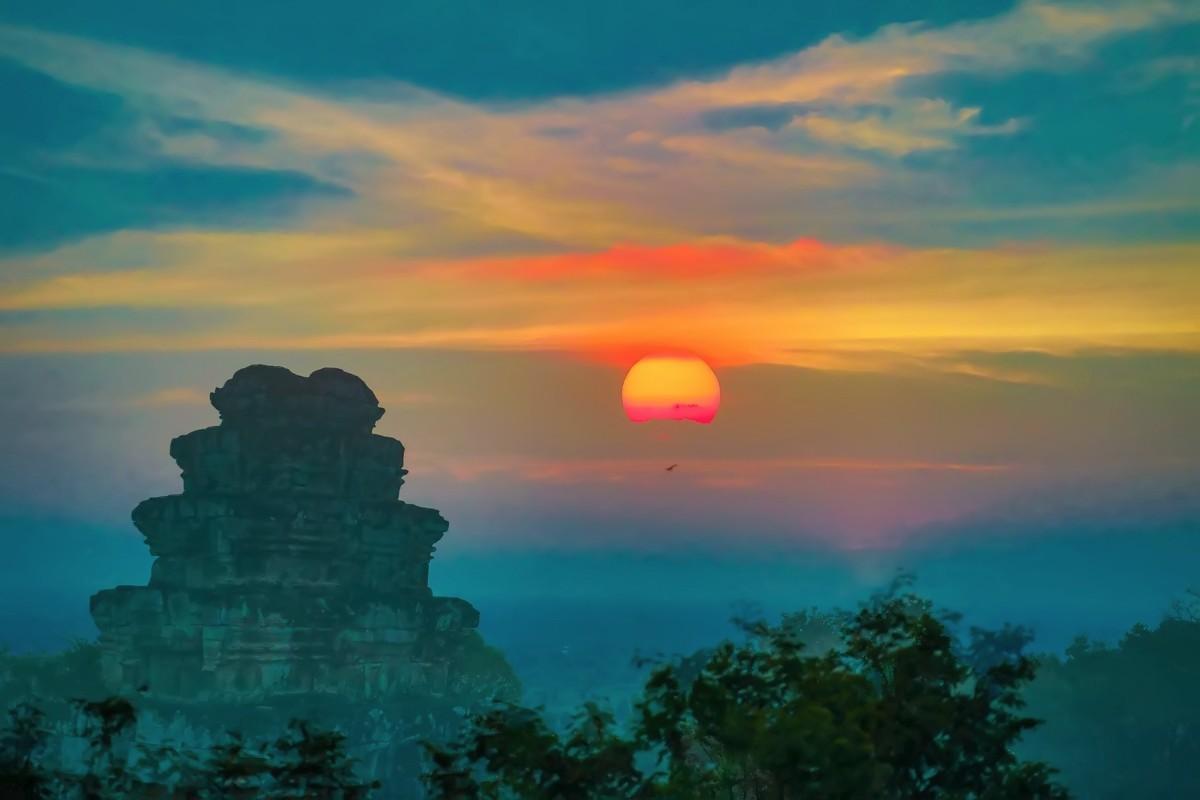 难道这就是世界上最美也是最挤的夕阳 行摄柬埔寨见闻_图1-8