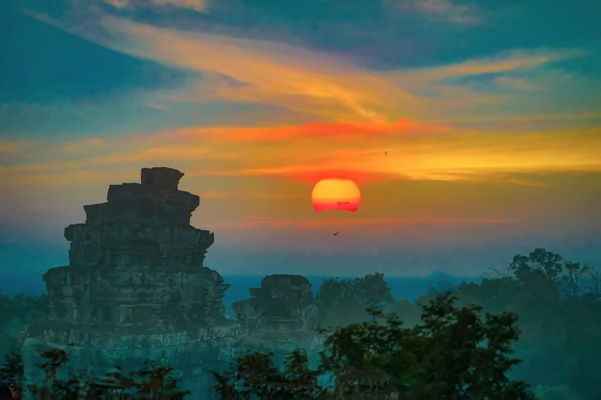 难道这就是世界上最美也是最挤的夕阳 行摄柬埔寨见闻_图1-9