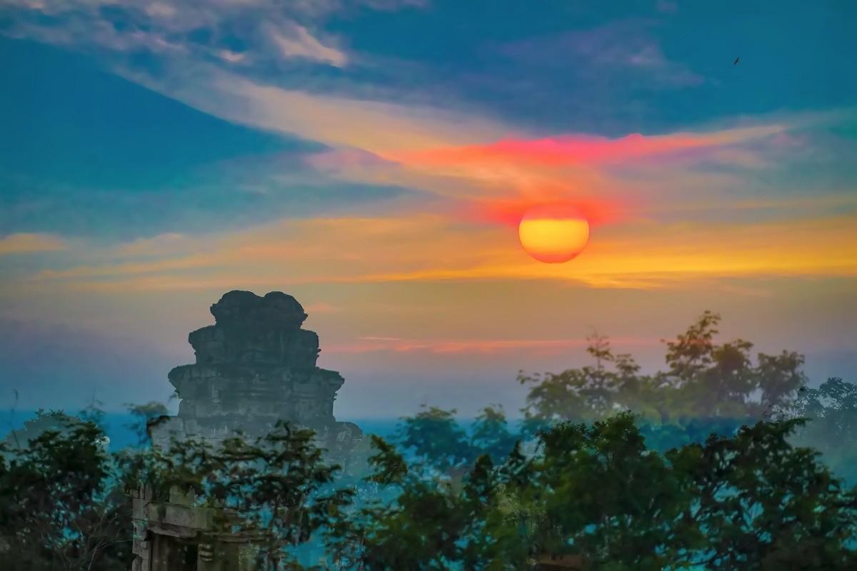 难道这就是世界上最美也是最挤的夕阳 行摄柬埔寨见闻_图1-10
