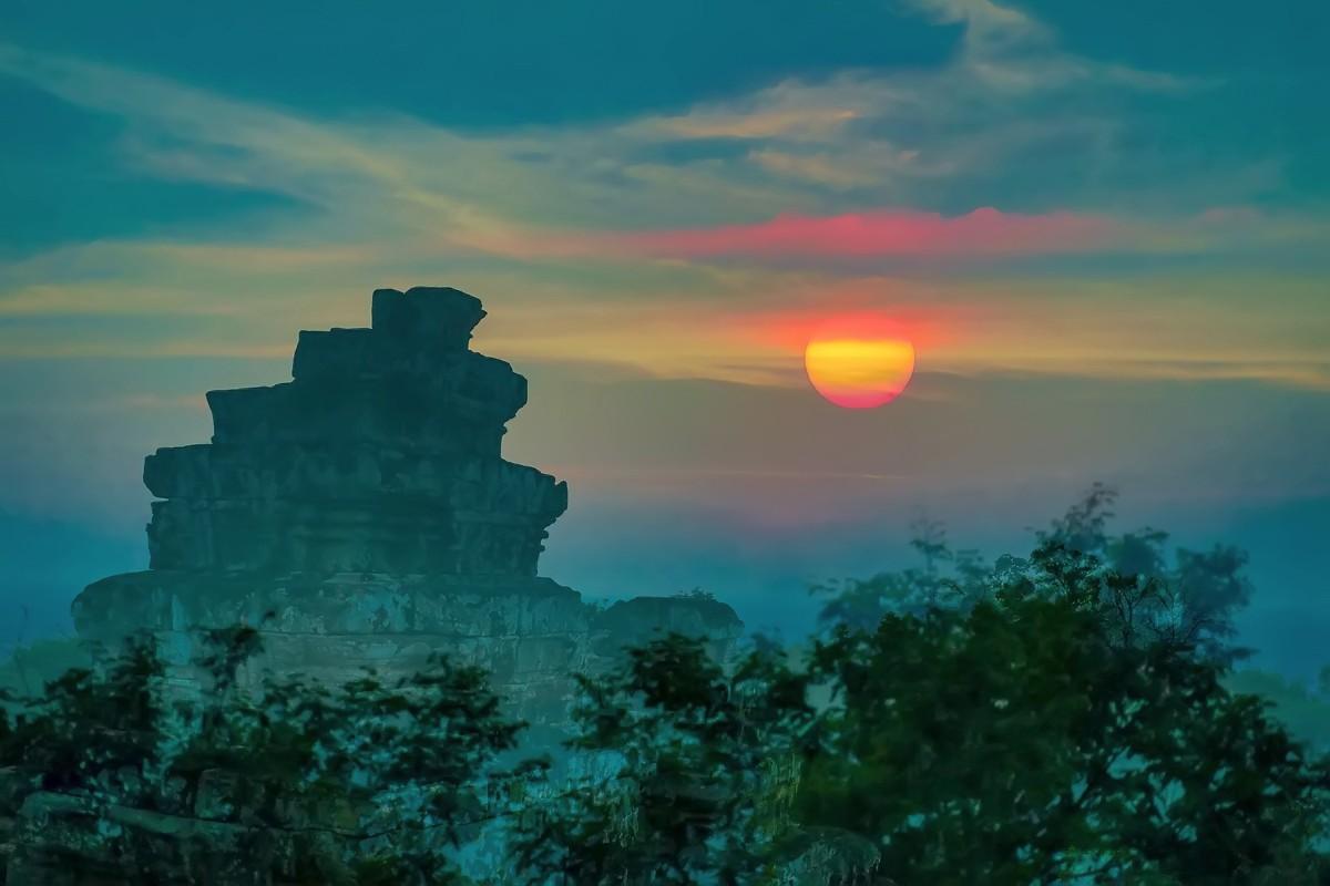 难道这就是世界上最美也是最挤的夕阳 行摄柬埔寨见闻_图1-11