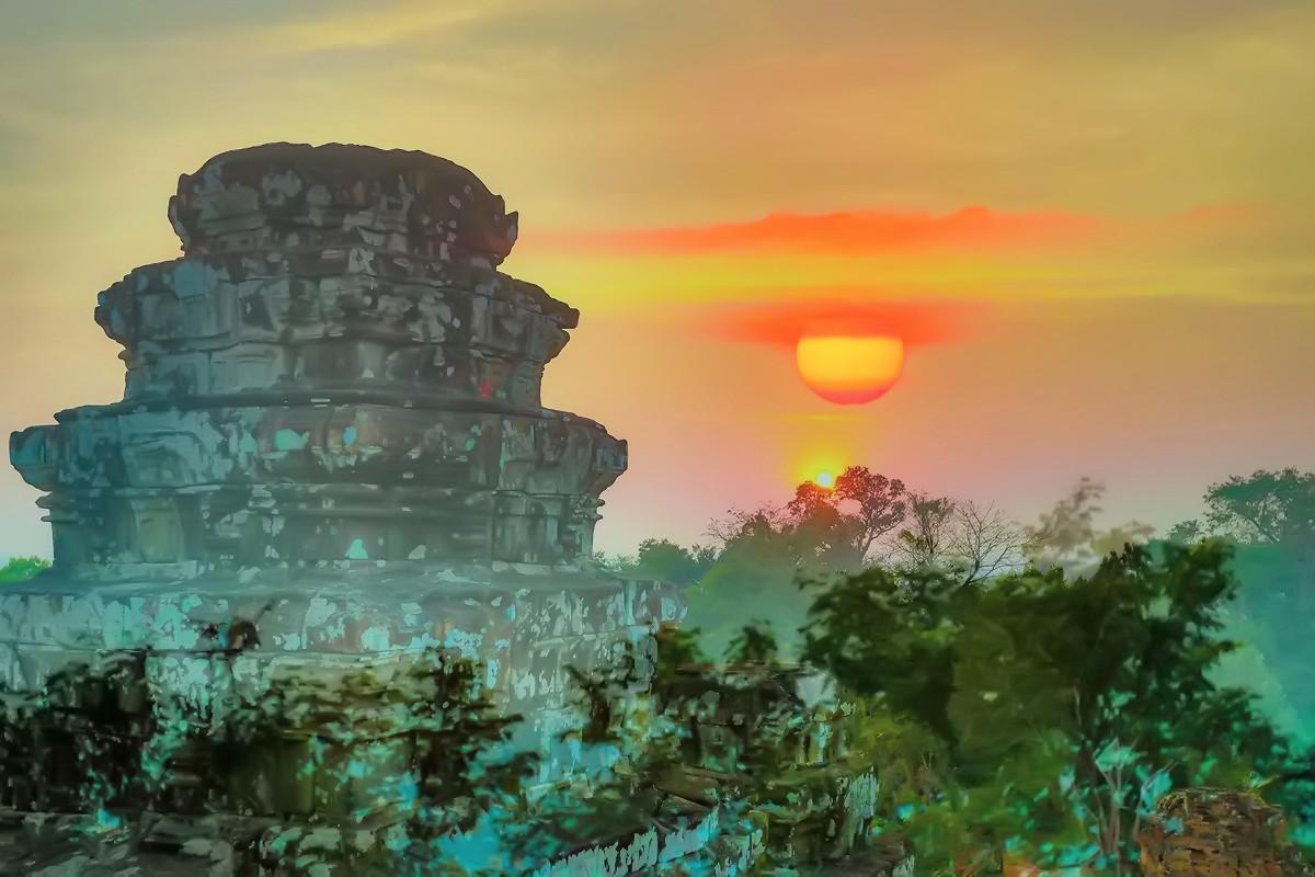 难道这就是世界上最美也是最挤的夕阳 行摄柬埔寨见闻_图1-12