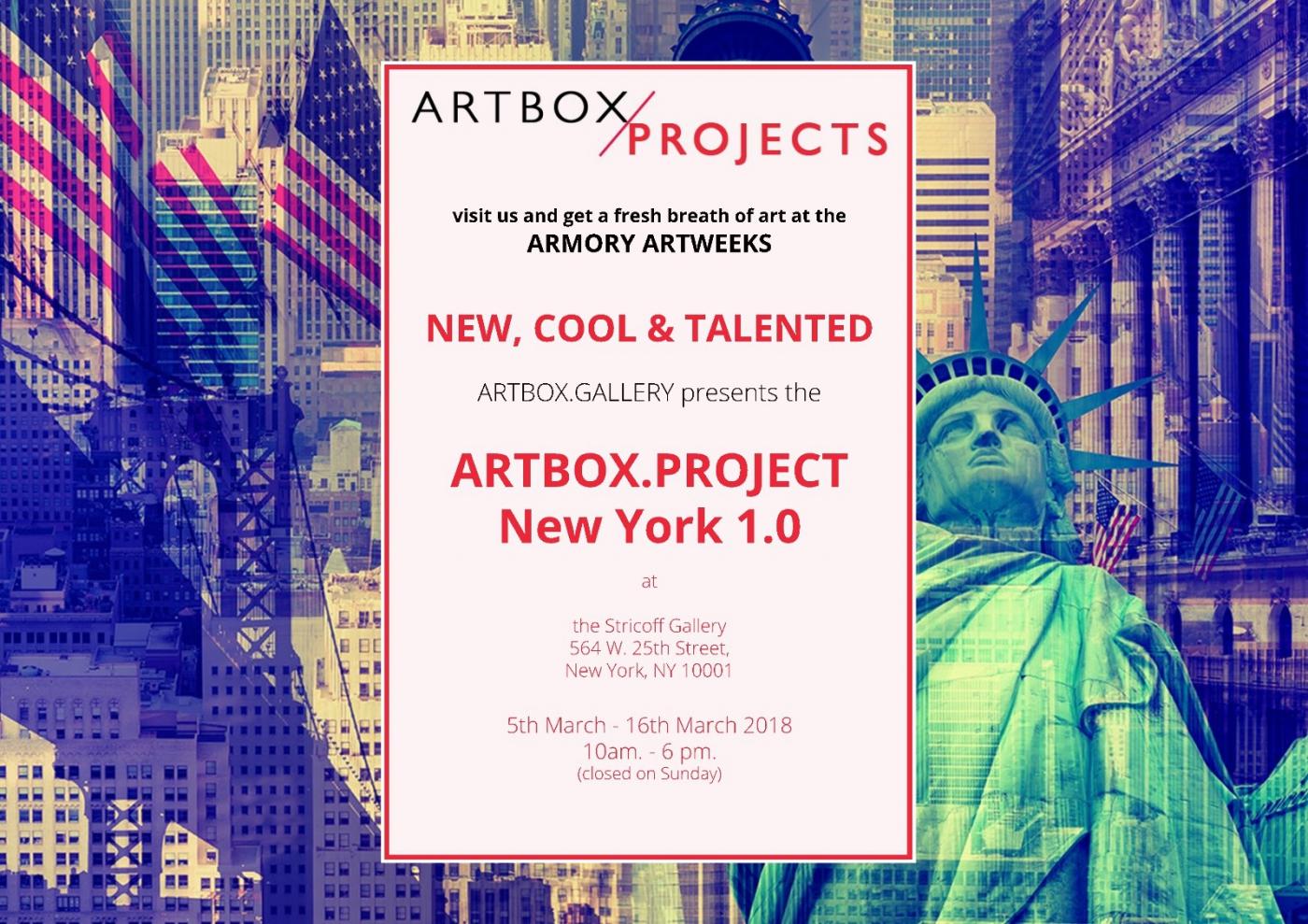 最新展讯 —ARTBOX.PROJECT纽约1.0_图1-2