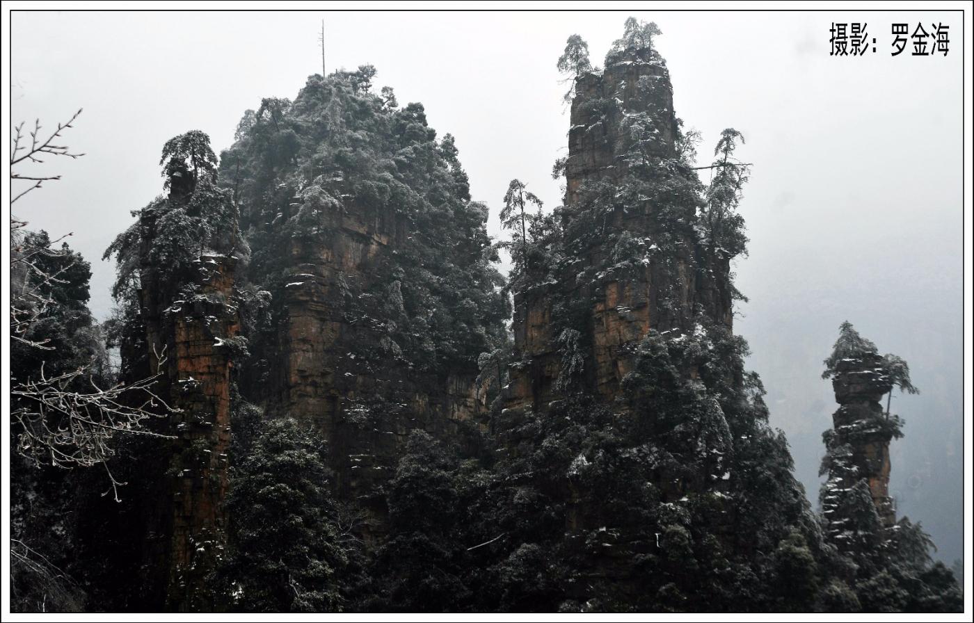 武陵源的雪(一)_图1-1