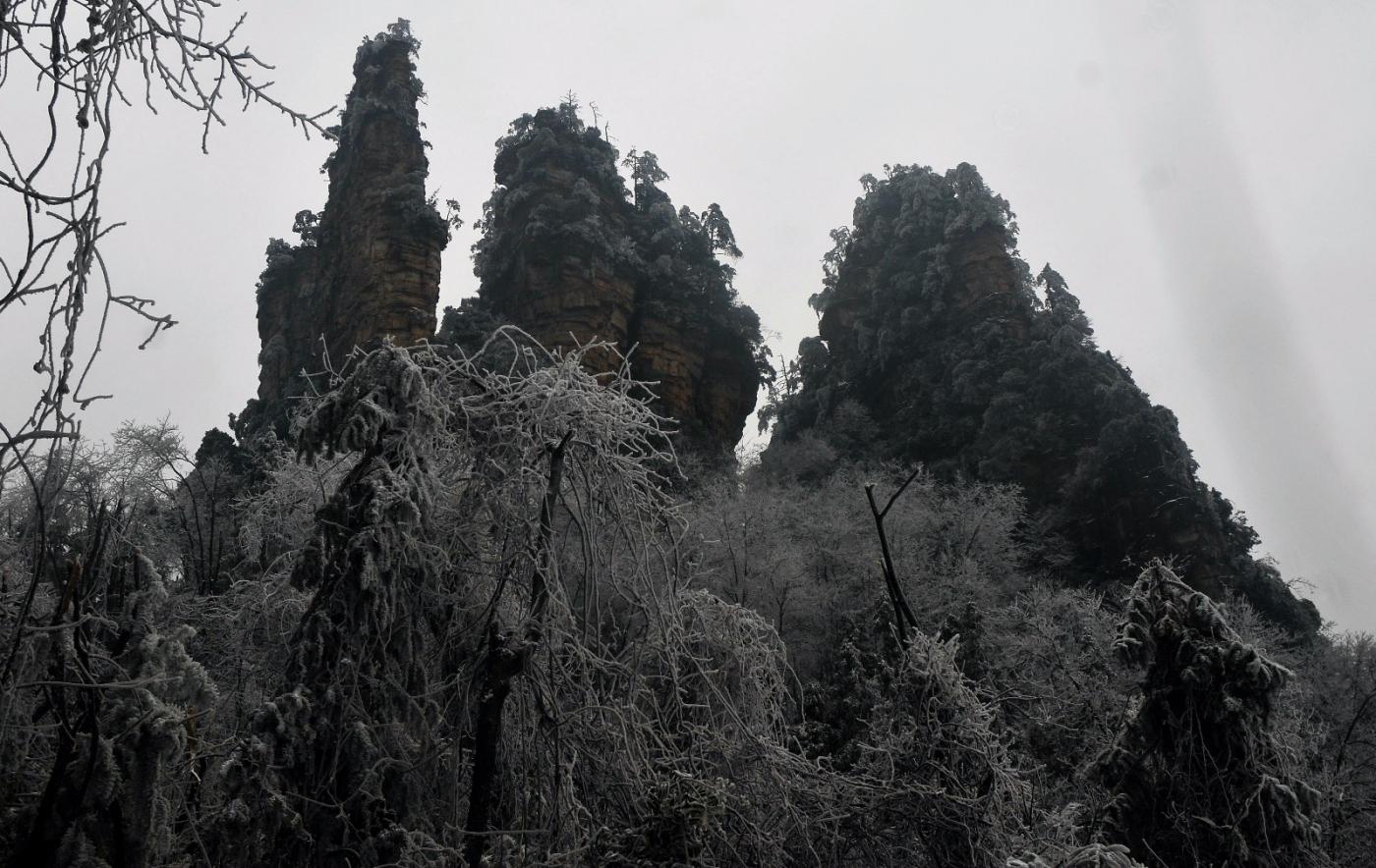武陵源的雪(一)_图1-5