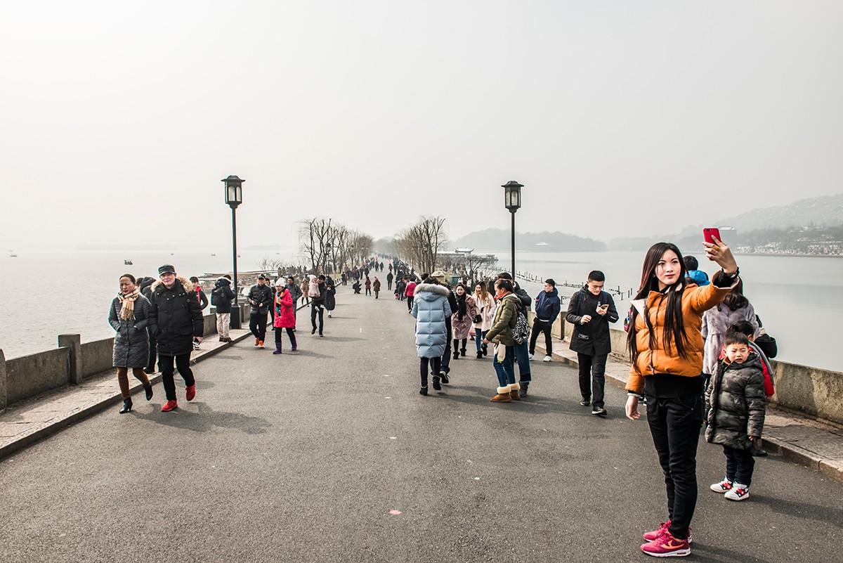 断桥残雪西湖景_图1-7