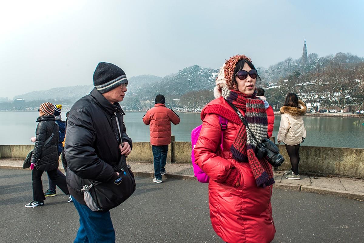 断桥残雪西湖景_图1-4