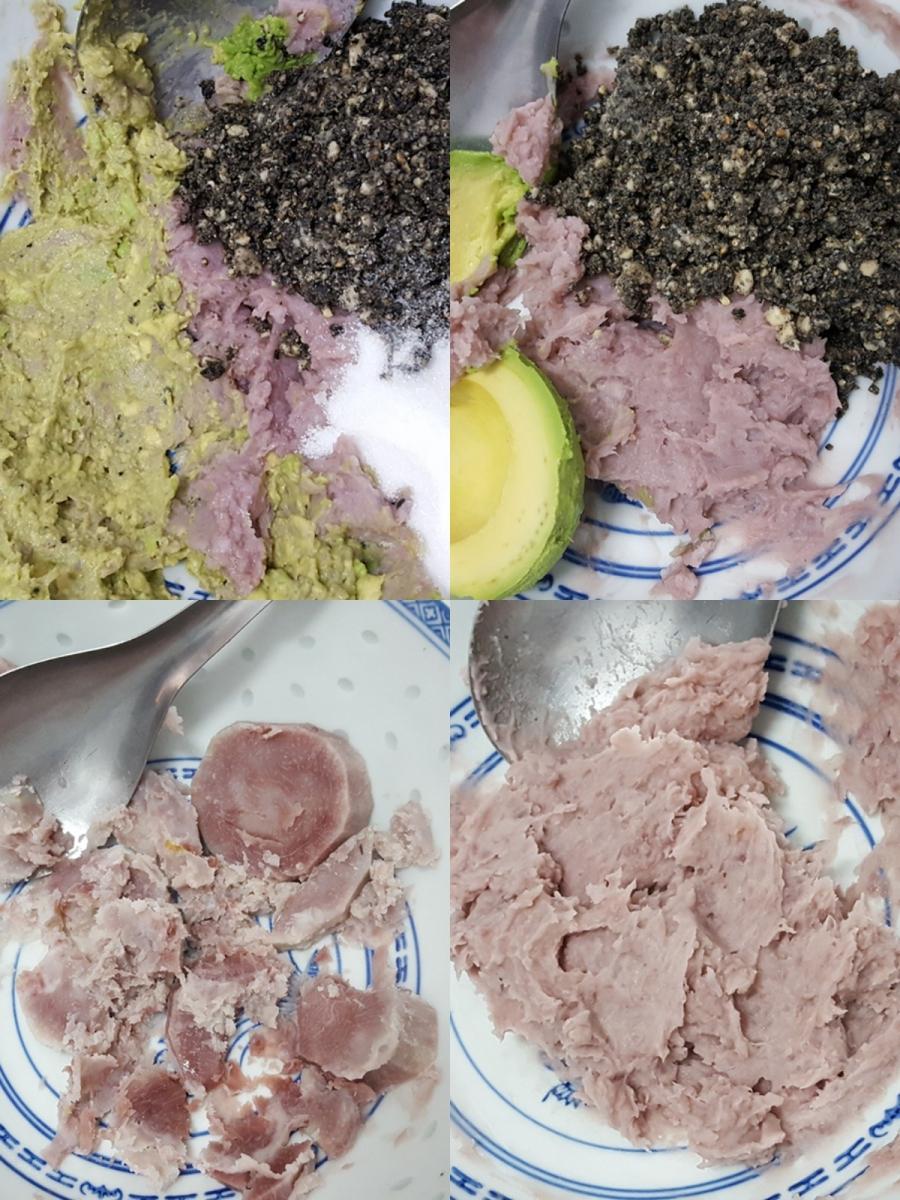 [田螺随拍]分享我做的紫汤圆、糯米糍_图1-10