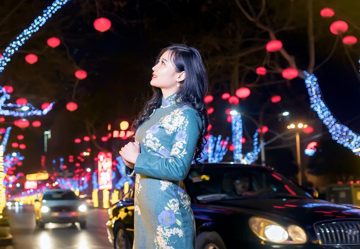 在临沂最美的街头遇见穿旗袍的女孩 传说中美丽冻人的故事开始了 ..._图1-4