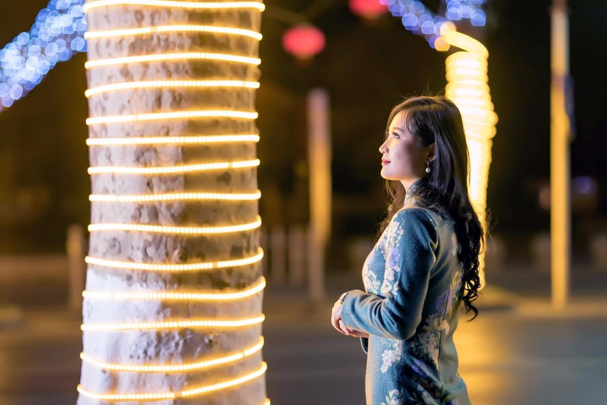 在临沂最美的街头遇见穿旗袍的女孩 传说中美丽冻人的故事开始了 ..._图1-6