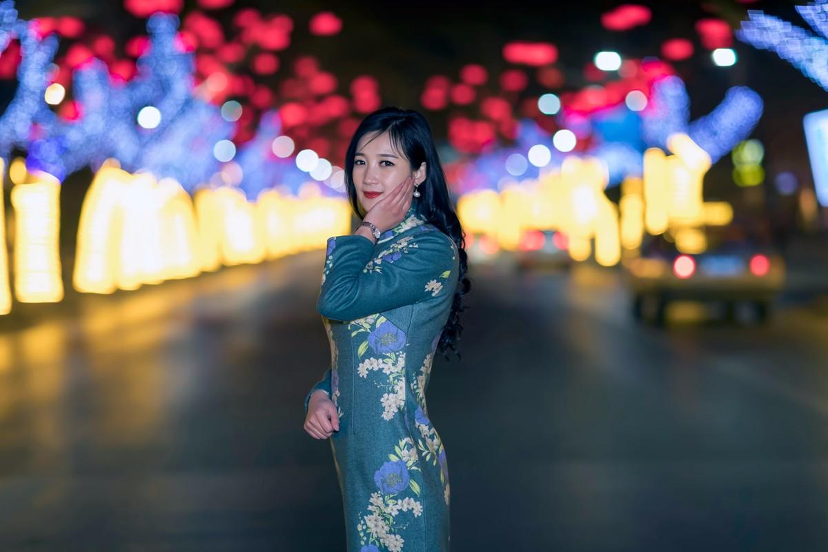 在临沂最美的街头遇见穿旗袍的女孩 传说中美丽冻人的故事开始了 ..._图1-13