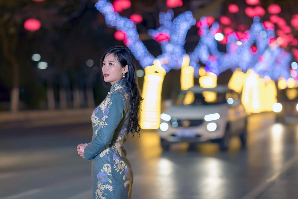 在临沂最美的街头遇见穿旗袍的女孩 传说中美丽冻人的故事开始了 ..._图1-14