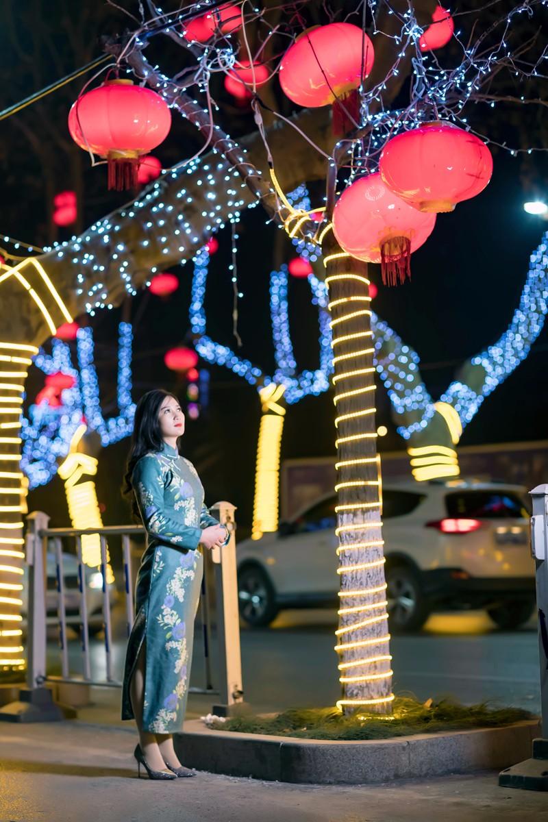 在临沂最美的街头遇见穿旗袍的女孩 传说中美丽冻人的故事开始了 ..._图1-15