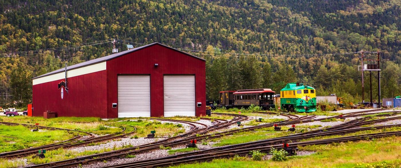 阿拉斯加,铁路旁的杂景_图1-11