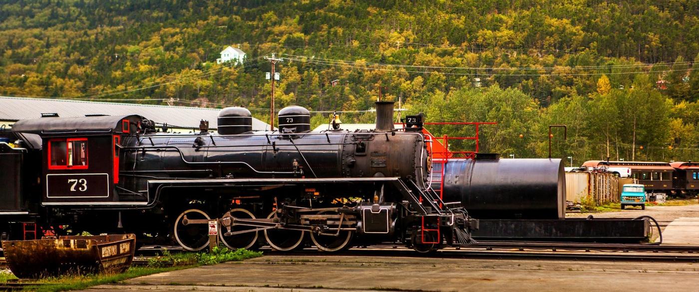 阿拉斯加,铁路旁的杂景_图1-5