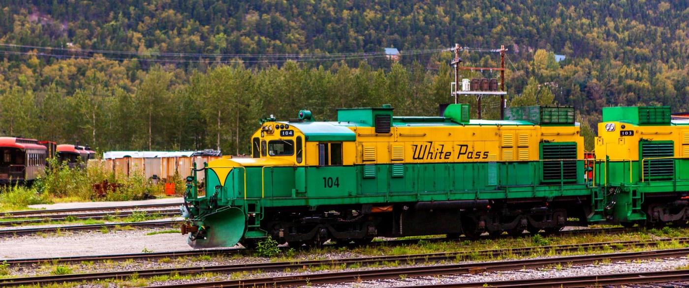 阿拉斯加,铁路旁的杂景_图1-4