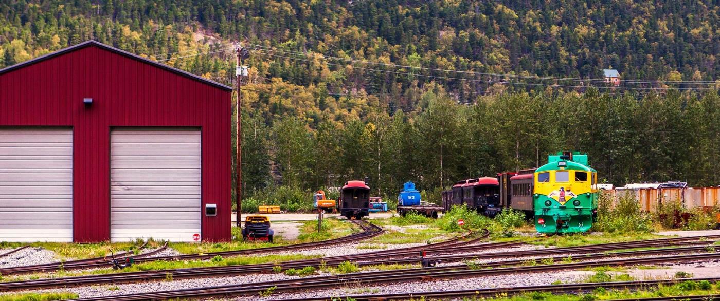 阿拉斯加,铁路旁的杂景_图1-2
