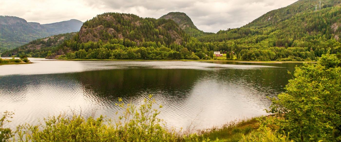 北欧风光,对岸的那片景_图1-8