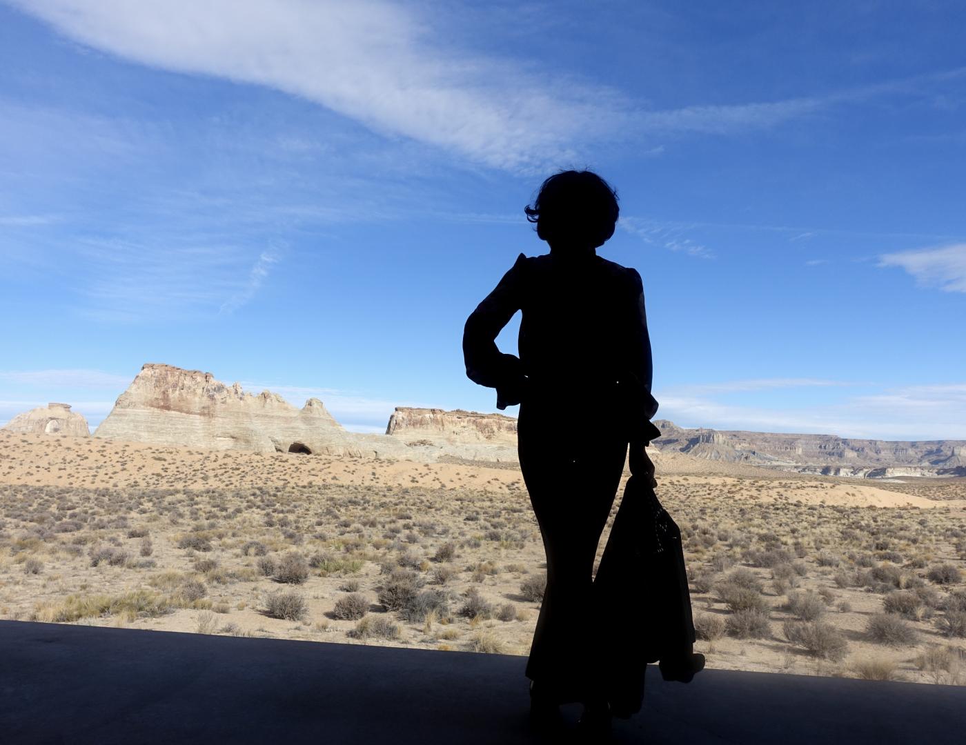 在渺无人烟的大沙漠中如何自得其乐_图1-17