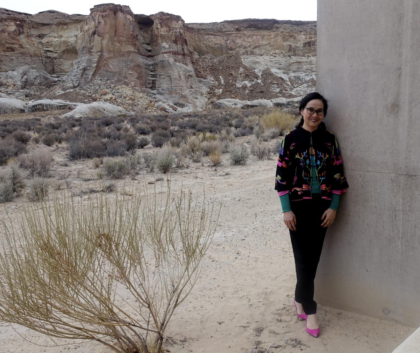 在渺无人烟的大沙漠中如何自得其乐_图1-32