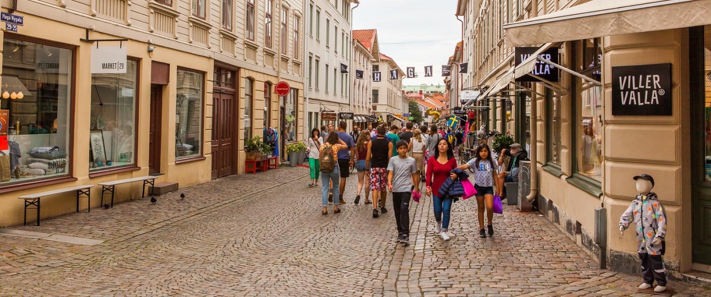 瑞典哥德堡,旧城的步行街_图1-9