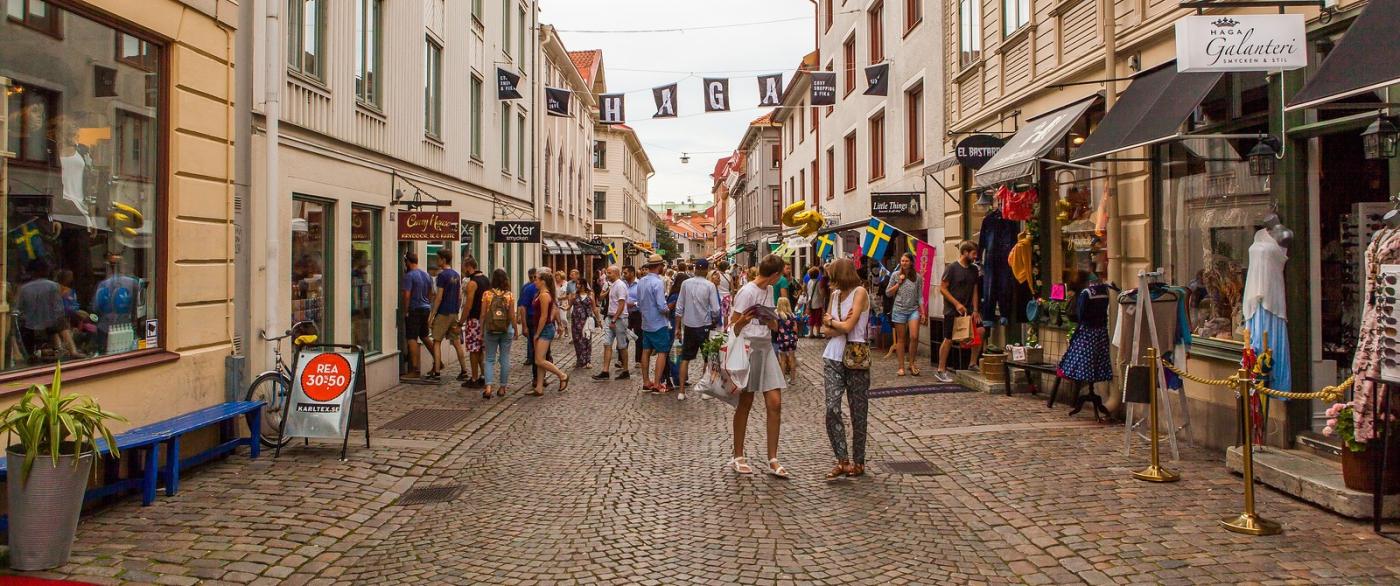 瑞典哥德堡,旧城的步行街_图1-10