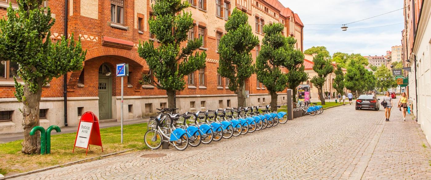 瑞典哥德堡,旧城的步行街_图1-7
